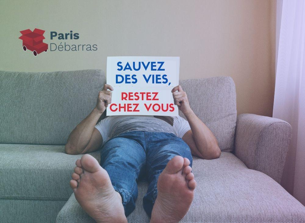 Coronavirus - Paris débarras