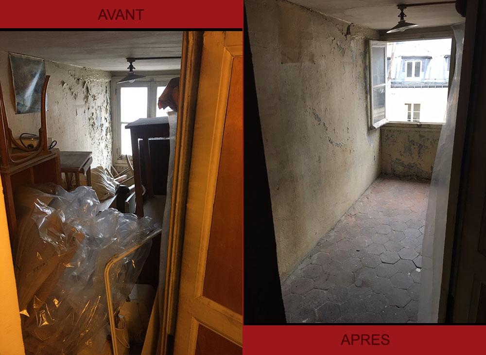 Débarras grenier et chambre de bonne - Paris Débarras