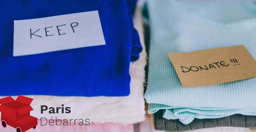 Donner les objets qui ne servent plus - Paris Débarras