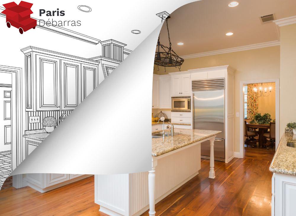 Que faire de son ancienne cuisine - Paris Débarras