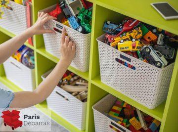 Comment trier les jouets des enfants - Paris Débarras